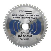 Mitre TCT saw and table saw blade